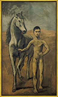 picasso horse and boy