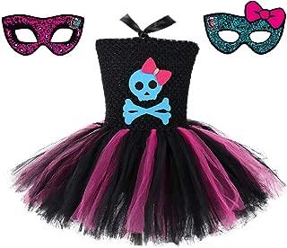 Skeleton Monster High School Tutu Dress w/Free MH Mask from Chunks of Charm