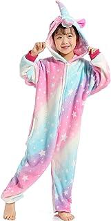 c6bc59ec6e9ec Z-Chen Pyjama Combinaison Animaux Costume Déguisement Cosplay Enfant Fille  Garçon