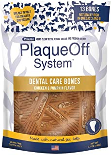 ProDen PlaqueOff Dental Bones Chicken & Pumpkin 17 ounce