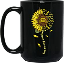 Cute You Are My Sunshine Sunflower Jeep Mug For Women Men Mother's Day Gift