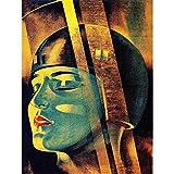 Wee Blue Coo Painting Movie Film Character Maria Metropolis