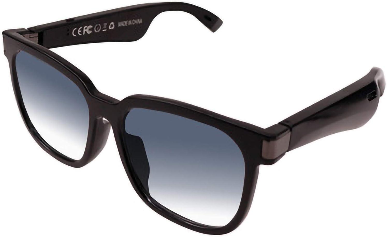 DUOYE Bone Conduction Smart Glasses, Bluetooth Smart Call, Anti-Radiation Blue Light, Waterproof and Sweat-Proof Sunglasses Sports Music Outdoor