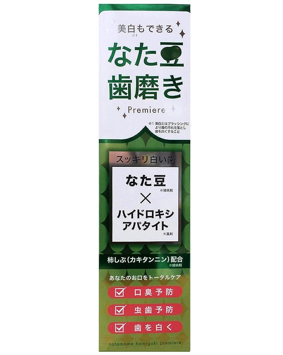 失速千苦なた豆歯磨きプレミア 120g