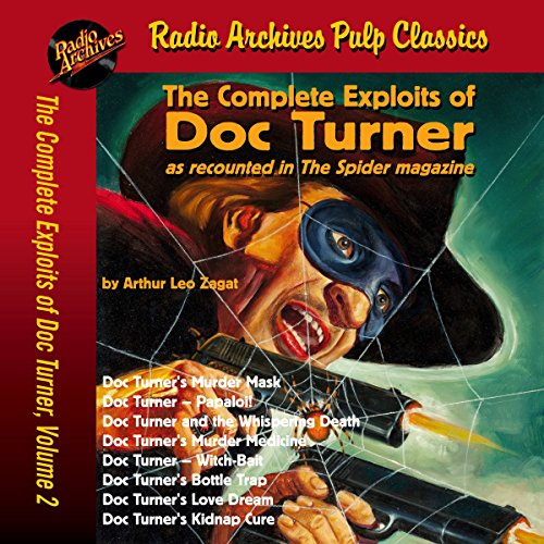 Couverture de The Complete Exploits of Doc Turner, Volume 2