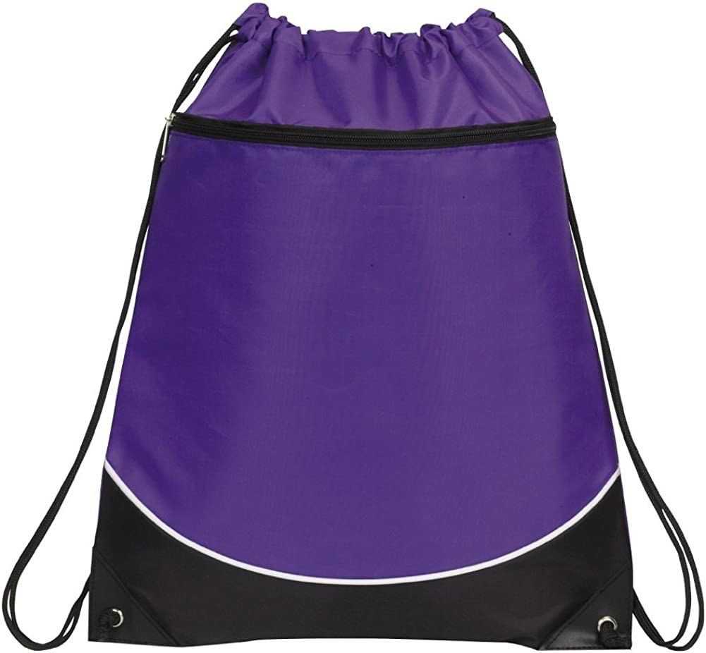 Deluxe Purple Black Sales results No. 1 White Bag Shoulder Sports Genuine Free Shipping Drawstring