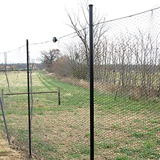 AM Leonard Tenax 30-year Deer Fence with Galvanized Steel Posts, 7 Pack