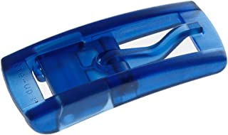 tie-ups Fibbie Unisex in plastica Colorata Modello Slim Adatte esclusivamente per Le Cinture della Serie Slim