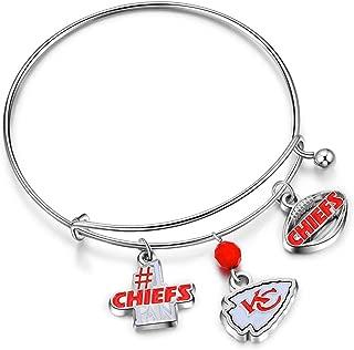 NFL Three Charm Logo Bracelet
