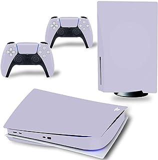 AXDNH Pegatinas de decoración de la Consola de Juegos para PS5 Edición Digital Consola Adhesivo respaldado Vinyl para PS5 ...