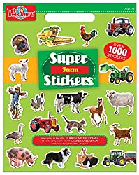 T.S. Shure Farm Super Stickers Book