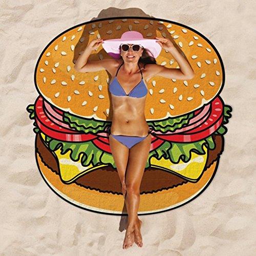 FancyStar spiaggia Asciugamano da bagno in lino-Tappetino da Yoga