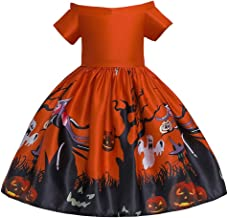 TIANTI Girls Kids Vintage Party Dresses Princess Pageant Gown Halloween Party Toddler Wedding Dress Tulle Lace Dress