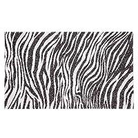 ネイルアートテーブルマットハンドホルダー快適な洗える枕クッションパッドレストマニキュアケア枕(ゼブラ柄)
