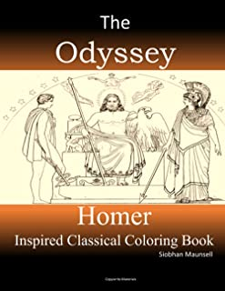 The Odyssey by Homer Inspired Coloring Book