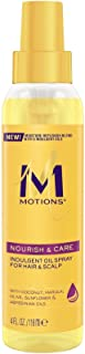 Motions Weightless Daily Oil Spray for Scalp and Hair, 4 Ounce