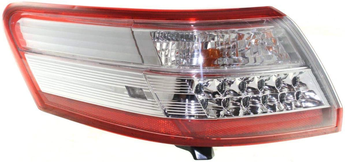 Tail Light For 10-11 Max 52% OFF Toyota Camry Las Vegas Mall Mounted Driver Body Outer Side