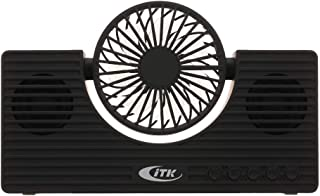 Goolrc Mini BT Speaker with Fan Wireless Phone Speaker Multi-functional Portable Sound Box Support TF Card AUX IN MP3 Player