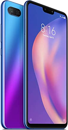 $185 » Xiaomi Mi 8 Lite 4GB - 64GB International Global 4G LTE Version (Blue)