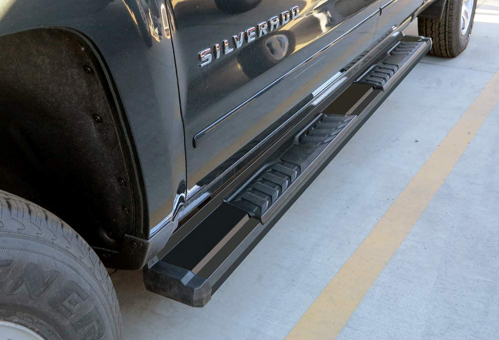 APS Black OE Style Free Shipping New Nerf Bars Boards with Running Chev Compatible 5 ☆ very popular