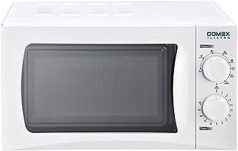 Domex Electro DM004 Microondas con grill, 700 W, 20 litros, Blanco