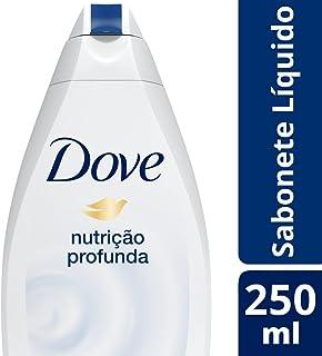 Sabonete Líquido Nutrição Profunda 250 ml, Dove, Branco