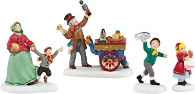 Multicolor 6001190 Department 56 Disney Mickey and Minnie Christmas Treats for Pluto Figurine Village Accessory