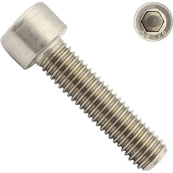 Zylinderkopfschrauben Edelstahl A2 V2A Zylinderschrauben mit Innensechskant VPE: 10 St/ück M8 x 60 D2D DIN 912