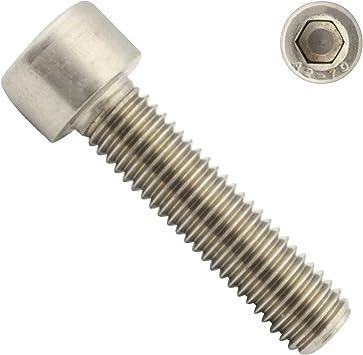 ISO 4762 M8x16 - SC912 25 St/ück - DIN 912 Zylinderkopfschrauben Zylinderschrauben mit Innensechskant - Vollgewinde aus rostfreiem Edelstahl A2 V2A