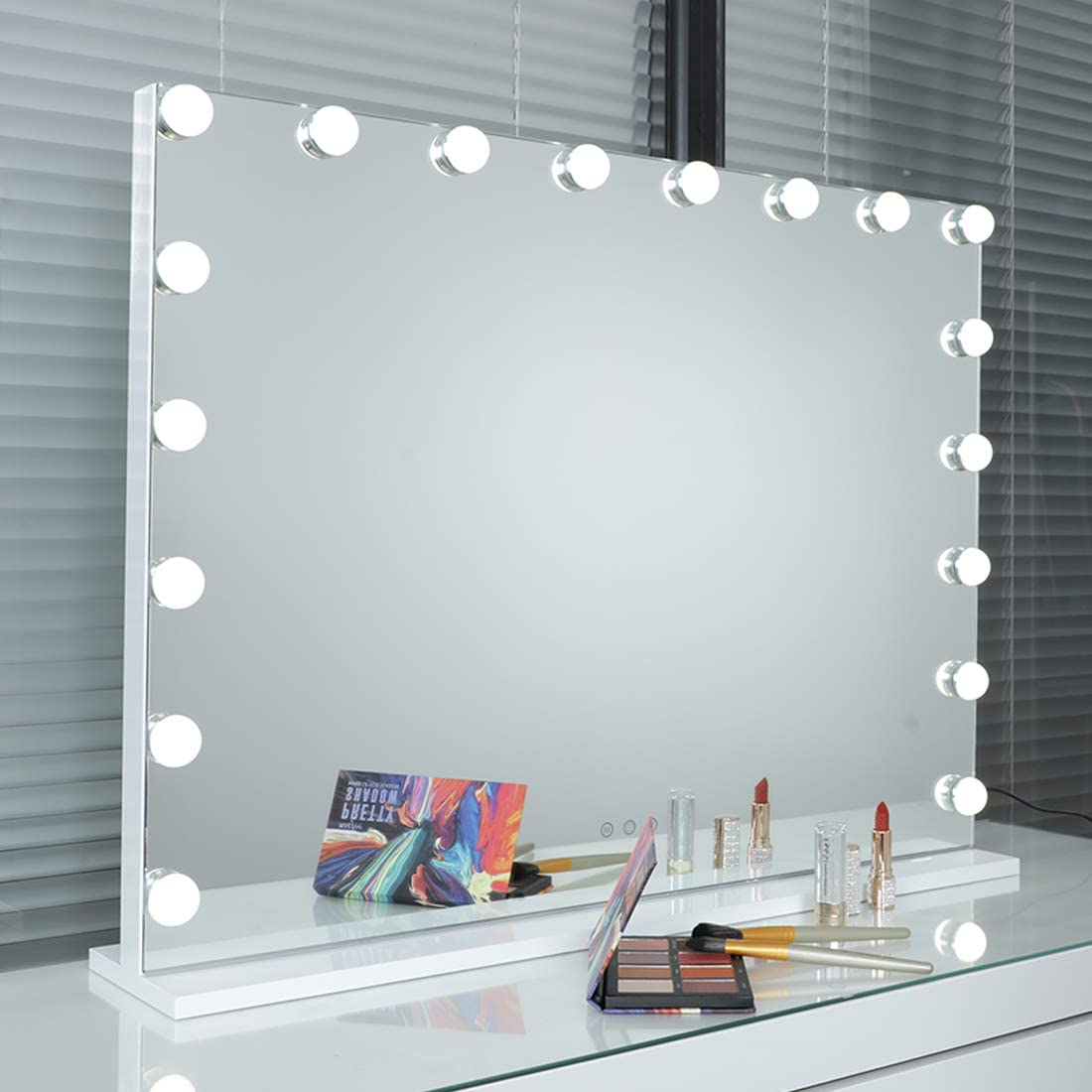 iCREAT Vanity Opening large release sale Mirror with Lights Lighted Mirro Hollywood Makeup Ranking TOP7