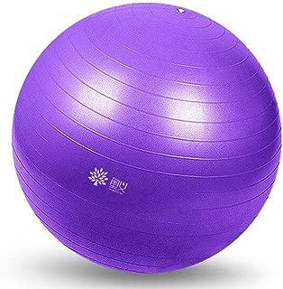 Yoga Ball Thickened Explosion-Proof Slimming Fitness Ball Child Pregnant Woman Birth Ball Balance Yoga Ball (Color : E, Size : 75CM)