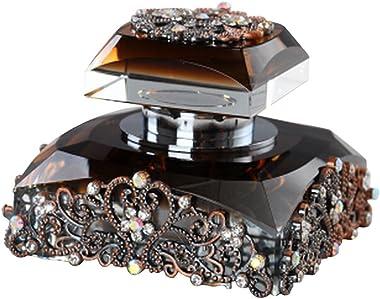 Alien Storehouse Car Perfume Crystal Car Air Freshener Perfume Bottle for Car Creative [Brown]