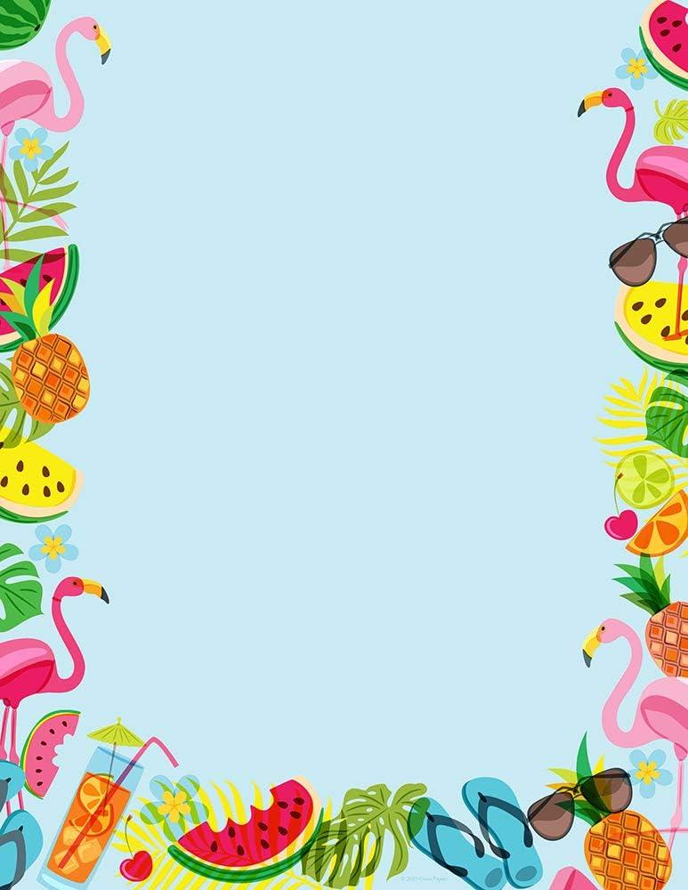 Cosco Tropical Vibes Letterhead