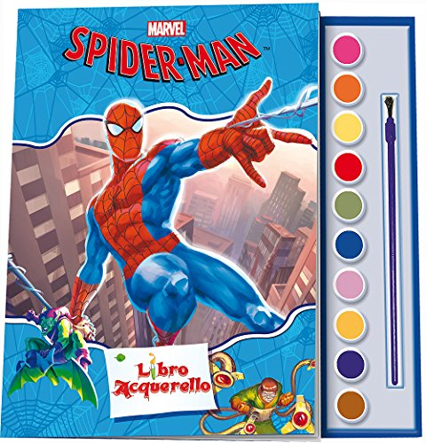 Spider-Man. Libro acquerello. Ediz. illustrata. Con gadget