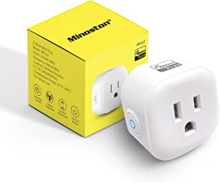 Z-Wave Plus Outlet, Mini Plug in Socket, Z-Wave Hub Required, Built-in Repeater/Range Extender, Work with SmartThings, Win...