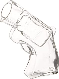 Thumbs Up UK REVSHOTGLS Revolver Shot Glass, Clear