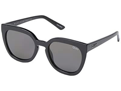 QUAY AUSTRALIA Noosa (Shiny Black/Smoke) Fashion Sunglasses