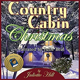 Country Cabin Christmas audiobook cover art