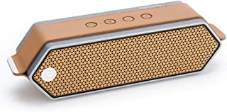 Dreamwave Audio - Harmony - Copper/Camel/Brushed Aluminum Wireless 16W Bluetooth Speaker