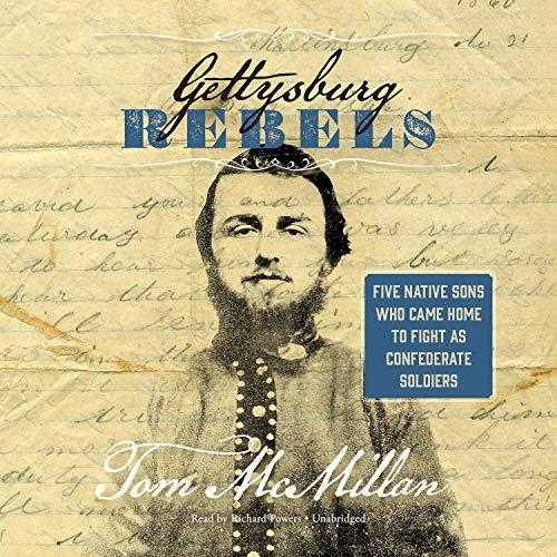 Couverture de Gettysburg Rebels