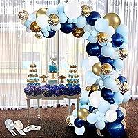 94 Piece Latex Confetti Balloon Arch Garland Kit (various)