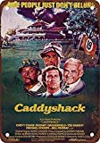 Bobdsa Mrute Caddyshack Movie tin Sign Wall Iron Painting Retro Plaque Decoration Metal Poster Art Gift Warning Sign for Family Warehouse Garden Shops Hotels etc 8X12 INCHES Vintage Signs