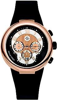 Philip Stein Men's 32-ARG-RBB Active Black Rubber Strap Watch