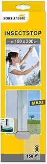comprar comparacion Schellenberg 50324 - Mosquitera para ventanas, protección anti insectos y moscas (150 x 300 cm) color blanco