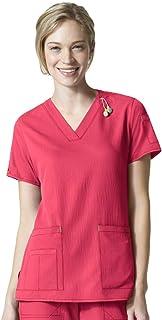 comprar comparacion Smart Uniform 5 bolsillos con cuello en V Media Top