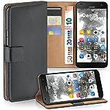MoEx Premium Book-Case Handytasche kompatibel mit Huawei G7