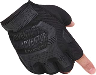 Handschuhe Fingerlos Schwarz Fingerlose Handschuhe Herren Winter Bike Handschuhe für Männer Fahrradhandschuhe Für Männer