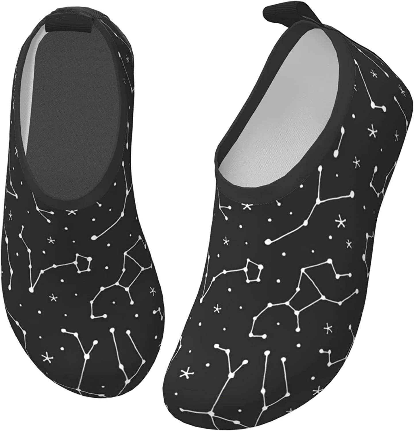 Fairy UMI Mysterious Constellation Toddler Water Shoes Non-Slip Aqua Sports Shoes Barefoot Swim Shoes Beach Surf for Boys Girls