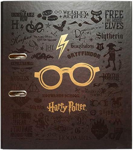 Erik® - Classeur à levier Harry Potter | Classeur A4 | Fournitures Scolaires, Fournitures de Bureau