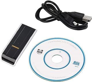 Lamijua Biometric USB Fingerprint Reader Security Password Lock for Laptop PC Computer Support English,Russian etc.